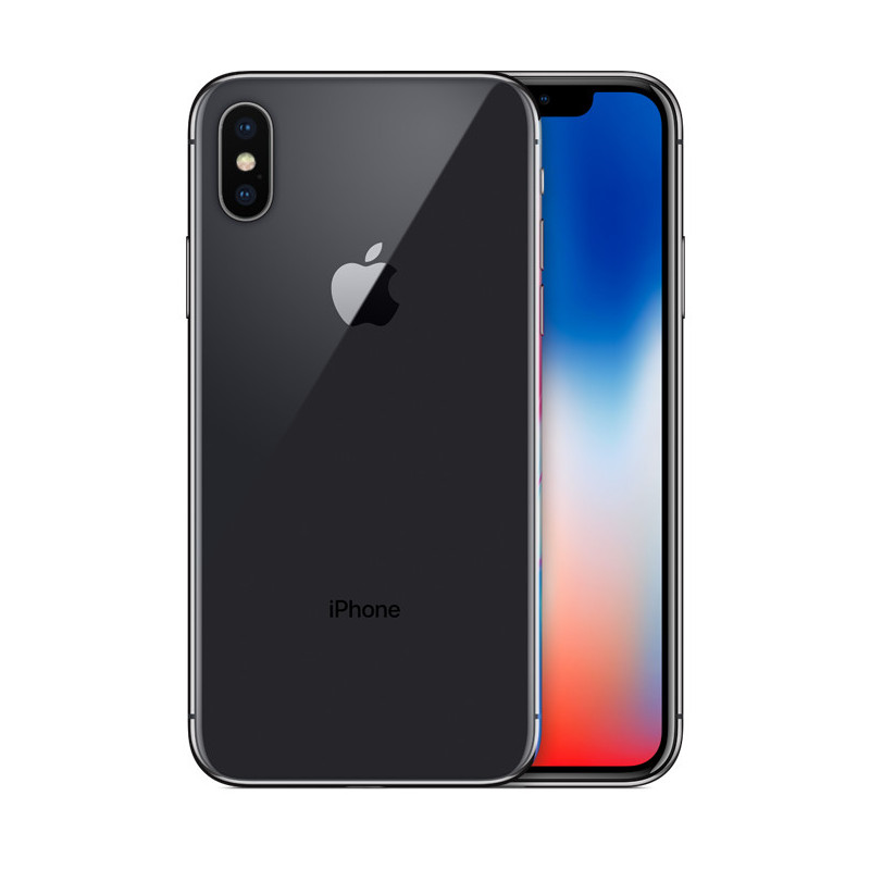iPhone X 64 Go Gris Sidéral Reconditionné